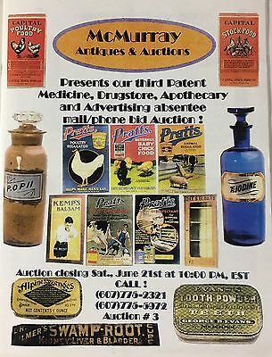 McMurray Auctions of Patent Medicine, Drugstore, Apothecary and Advertising (18)