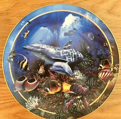 Bradford Exchange Visions Beneath the Sea - Miracle of Life Collectors Plate