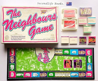 (Vintage) THE NEIGHBOURS GAME ~ Crown Andrews (1988). SecondLife Games.