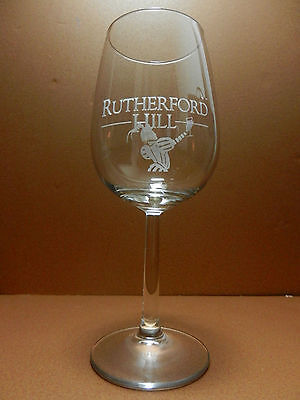 Rutherford Hill Stemmed Wine Glass California Winery
