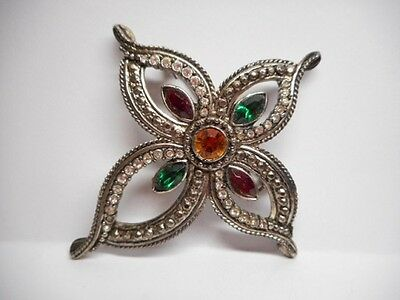 Large Costume Jewelry Brooch!