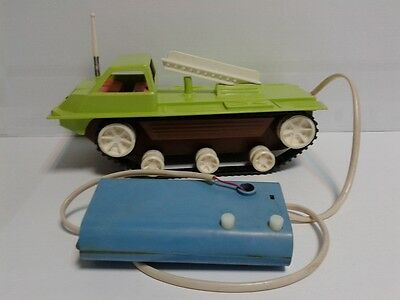 Vintage Russia CCCP Rocket launcher battery operated fully working 1970-80's