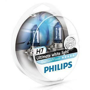 PHILIPS H7 ULTIMATE WHITE LIGHT (Twin Pack)