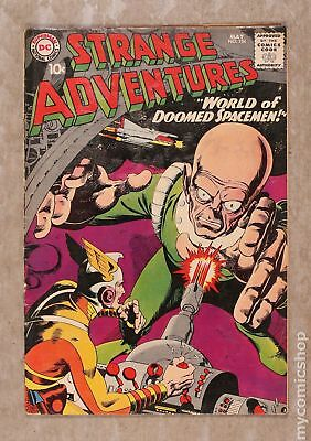 Strange Adventures (1950 1st Series) #104 GD/VG 3.0 LOW GRADE