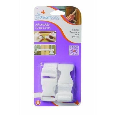 Dreambaby Strap Latches Pack (white) - Latch New F148 Child Safety Proof