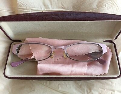 Pink And Grey Glasses