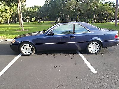 1999 Mercedes-Benz CL-Class  Mercedes CL600 1999, one of 15,an investment, a toy a collector item $138K NEW
