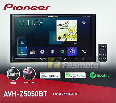 "Pioneer AVH-Z5050BT 7"" Apple CarPlay Android Auto AppRadio Bluetooth Full HD"