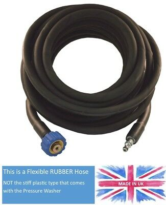 Nilfisk Pressure Washer Hose C110 , C120 etc NON OEM HD Rubber Wire reinforced