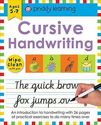 Cursive Handwriting (Wipe Clean Workbooks) Book