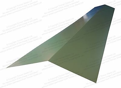 0Steel Ridge Flashing Barge Flashings Corner Capping Polyester Juniper Green