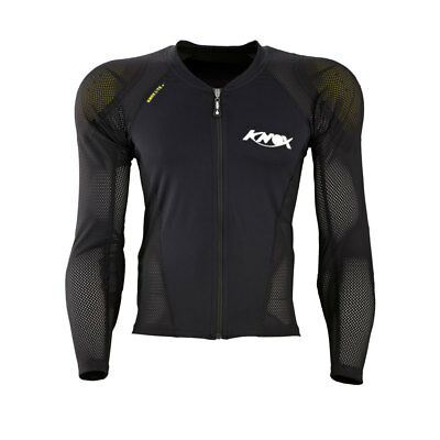 Knox V14 Venture Zip-up Armour Sleeved Top Shoulder/Elbows/Back Sports Motorbike