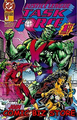 Justice League Task Force #1 (1993) 1St Printing Bagged & Boarded Dc Comics