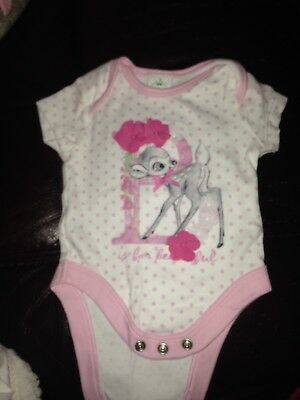 Disney Up To 1 Month Bambi Bodysuit Baby