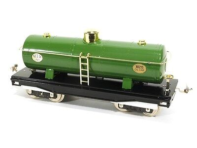 MTH Tinplate Traditions MTH Lines Tank Car Standard Gauge Model Trains 10-1051