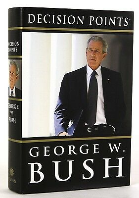 George W. Bush Decision Points Book (Brand New, 2010, Hardcover)