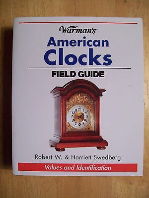 CLOCKS PRICE GUIDE COLLECTOR'S BOOK Grandfather Cockoo Wall Mantel 512 PAGE
