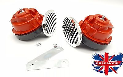 Motorbike Motorcycle Air Horn 120dB 12 volt Motorcycle Loud Sound Level Chrome