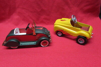 lot of 2 Hallmark Kiddie Car Classics 1934 Christmas Classic & don's street rod