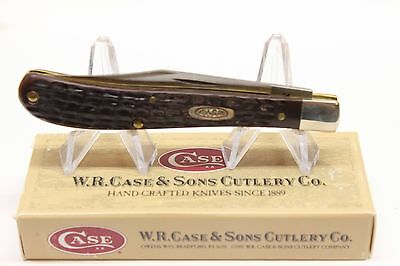 WR Case 1 Blade Pocket Model 61048SS NIB 1999 Folding Pocket Jack Knife 4 1/8""