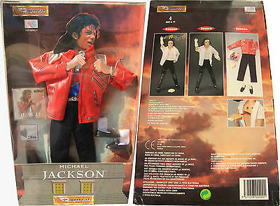 Michael Jackson Costume Poupée BEAT IT Outfit Doll Puppe TOY 1995