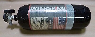 NEW INTERSIRO 60 Minute 4500 PSI CARBON FIBER FIREFIGHTER SCBA TANK W/ VALVE
