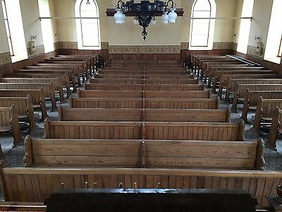Church Pews-  Pitch Pine
