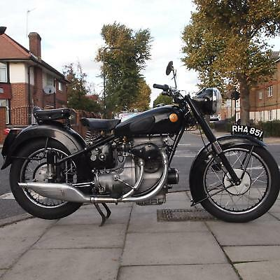 1952 Sunbeam S8 Classic Vintage With All Original Metal Tin Ware And Nice Patina