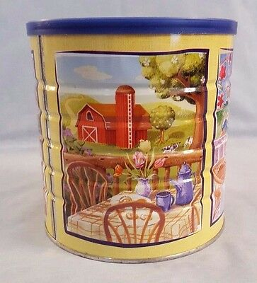 Maxwell House Coffee Collector Tin - Spring Series 2005