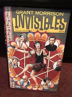INVISIBLES VOLUME 2 Graphic Novel Deluxe Edition HARDBACK