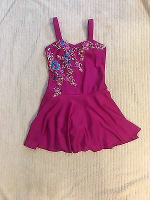 Dark pink  Glamour Dance Costume