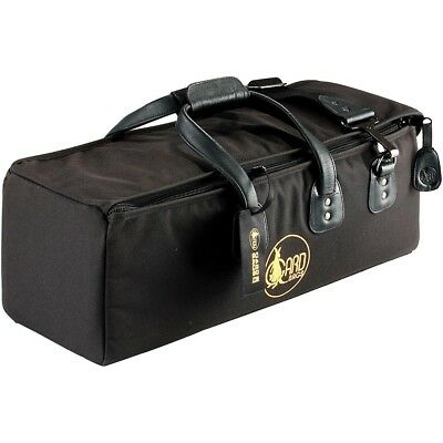 Gard Mid-Suspension Trumpet & Mute Gig Bag 8-MSK Black Synthetic w/ Leather Trim