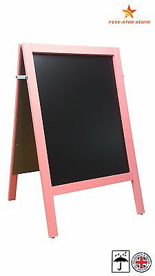 Large - Pink - A Board - Pavement  Board  - 10 Kg - 100Cm High X 62Cm Wide