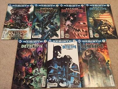 DC Rebirth Batman Detective issues 934, 935, 936, 937, 938 and 939