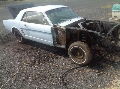 1965 Ford Mustang Base coupe 1965 Mustang