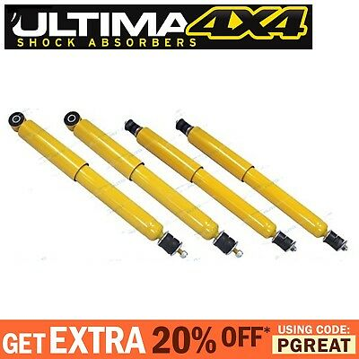 Set of 4 Front & Rear Gas Shock Absorbers Land Rover Discovery 1989-98 Series I