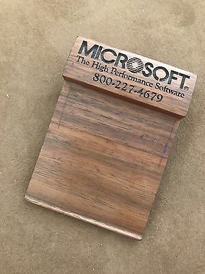 Vintage Microsoft Collectible Post-it / Stcky Note Stand