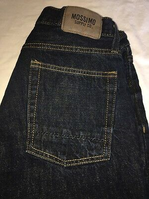 Mens Mossimo Dark Wash Size 32/30 Denim Jeans Straight Leg
