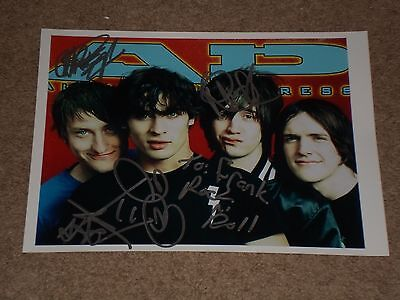 """all American Rejects"" Band Signed Autographed 8.5X11 Photo - Signed By All 4!"