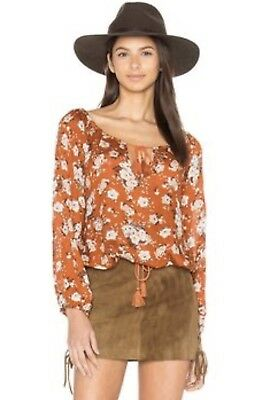 Spell and The Gypsy Collective Gypsy Dancer Blouse Maple Large