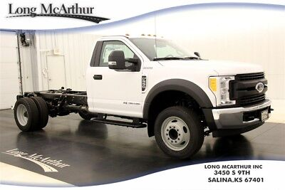 2017 Ford F-550 XL CAB AND CHASSIS POWER STROKE DIESEL MSRP $52865 REMOTE KEYLESS ENTRY POWER WINDOWS/LOCKS TRAILER TOW MIRRORS