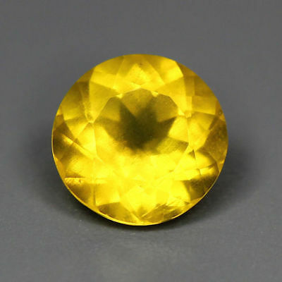 1.10 Cts Fantastic Golden Yellow 100 % Natural Heliodor Yellow Beryl Gemstones