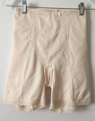 """New Beige Lace Girdle  """"slimlook""""  by Smoothie Sz Large Style 2720"""