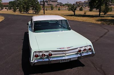 1962 Chevrolet Impala  1962 Impala Factory A/C 283 Power Pack loaded with options SURVIVOR 76,500 MILES