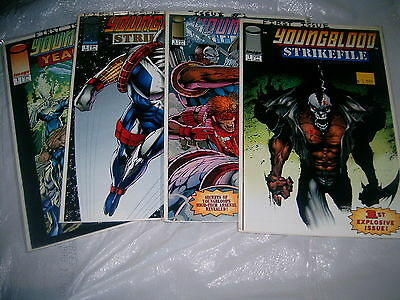 IMAGE YOUNGBLOOD # 1 FOUR DIFFERENT #1 s  LOT of four 4  VERY high grade mint ?