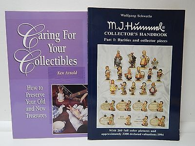 Caring For Your Collectibles - Book and M.I.Hummel Collector's Handbook !