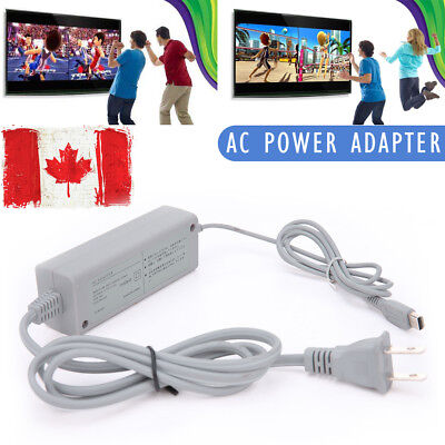 AC Wall Plug Power Supply Adapter Charger Cable Cord for Nintendo Wii U Gamepad
