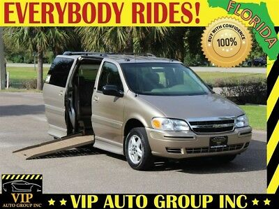 2004 Chevrolet Venture LT Mini Passenger Van 4-Door 2004 Venture Handicap Wheelchair Van Braun Power Side Ramp Mobility Lift