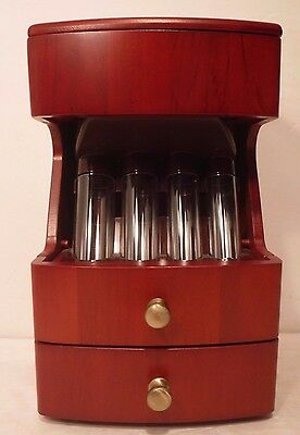 "Battery Operated 6900 Solid Wood Deluxe Valet Motorized Coin Sorter ""Full Rolls"""