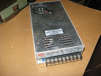 Mean Well Power Supply SP-320-24  24 volt DC
